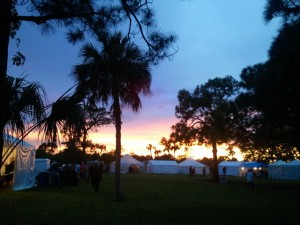 a sunset 1