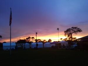 a sunset 3