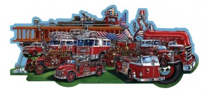 Classic Fire Trucks/ A History of Fire trucks